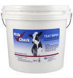 Milk Check Teat Wipes