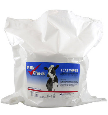Milk Check Teat Wipes Refill