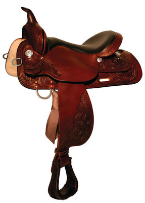 High Horse Mineral Wells Trail Saddle, Regular