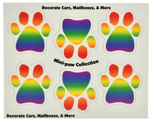 6 Mini-PAWS Magnets