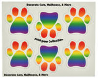 Mini-PAWS Magnet Color