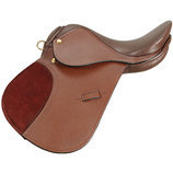 "12"" Miniature All Purpose Saddle, Brown"
