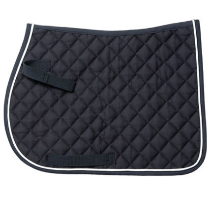 Miniature Square Quilted Comfort English Saddle Pad