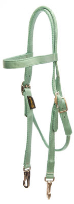 Mint Green Nylon Headstall, Full