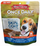 Missing Link Once Daily Superfood, Skin & Coat Dental Chew