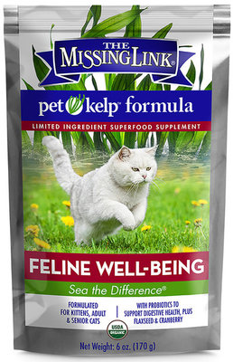 Missing Link Pet Kelp Feline Well-Being Formula
