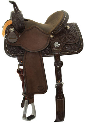 Molly Powell Vintage Cowgirl Freedom Fit Barrel, Chocolate