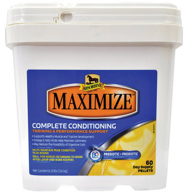 Absorbine Maximize Conditioning Supplement, 8 lb (60 day supply)