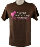 "Horses Unlimited ""Home Is Where My Horse Is!"" T-shirt"