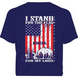 Stand for the Flag, Kneel for My Lord T-shirt