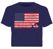 "Moss Brothers ""Pledge of Allegiance"" Shirt"
