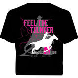 Feel the Thunder Barrel Racing T-shirt