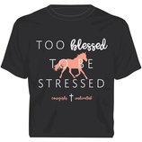 "Moss Brothers ""Too Blessed"" T-shirt"