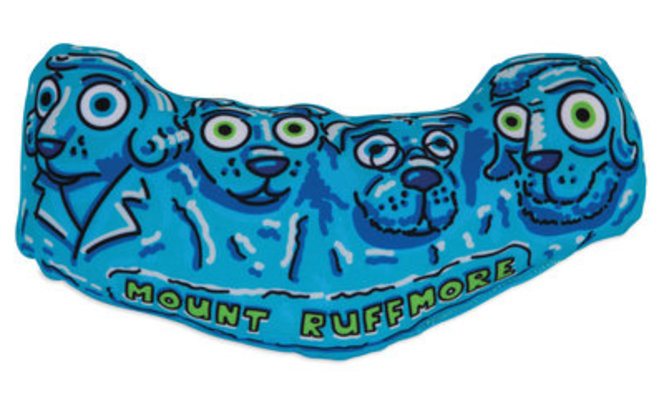 Mount Ruffmore Fat Cat Monumutts Dog Toy