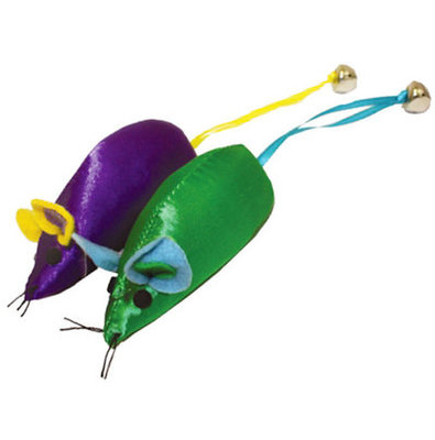 Mouse with Bell, Assorted, 3.75""