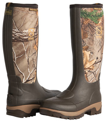 Muds Cold Front Realtree Camo High Boots, Men, Camo