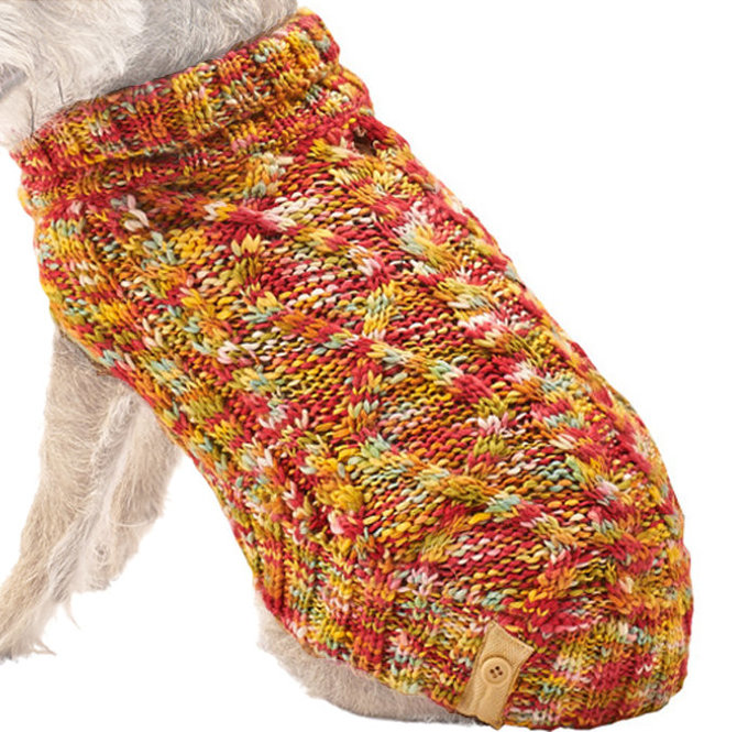 Crochet Dog Sweaters For Large Dogs Multi Colored Jeffers Pet