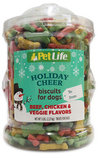 PetLife Multi-Flavor Holiday Cheer Biscuits, 5 lb