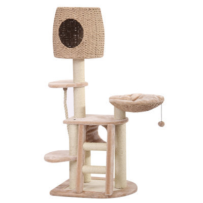 Multi-Level Cat Playhouse