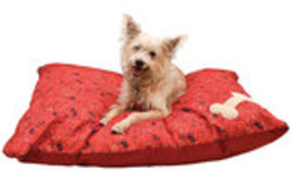 MuttNation Pillow Bed with Bone Applique