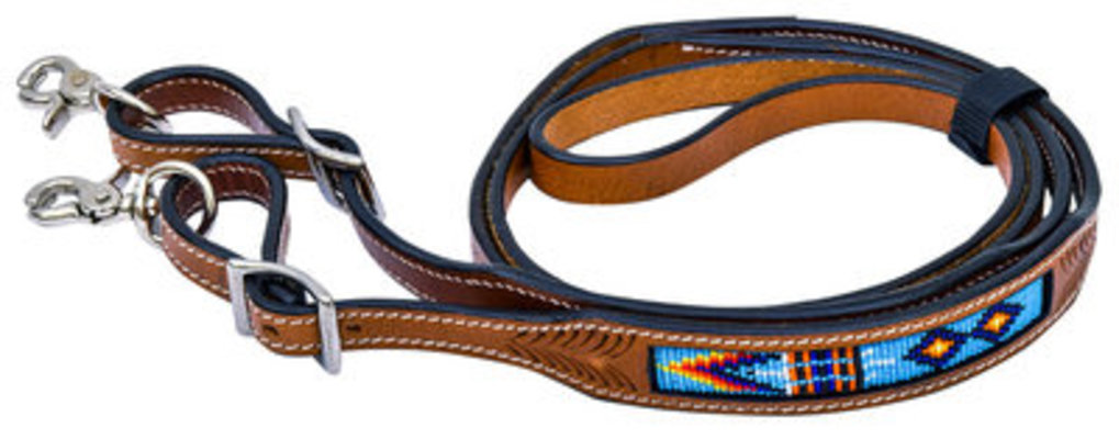 Native American Beaded Roping Rein