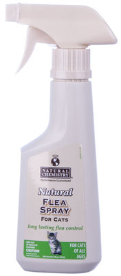 Natural Flea Spray for Cats, 8 oz