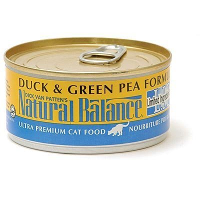 Duck and Green Pea Canned Cat Food