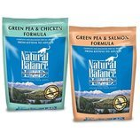 Green Pea and Chicken or Salmon Dry Cat Food