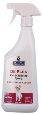 DeFlea Pet & Bedding Spray, 24 oz
