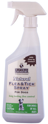 Natural Flea & Tick Spray, 24 oz