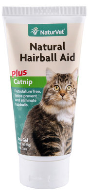 NaturVet Natural Hairball Aid w/ Catnip, 3 oz