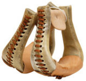 Rawhide Bell Bottom Stirrup
