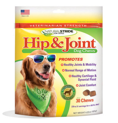 Natural Stride Vet Strength Hip & Joint Chews