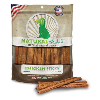 Natural Value Treat Sticks, 14 oz