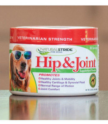 Natural Stride Hip & Joint Vet Strength Powder, 150 grams
