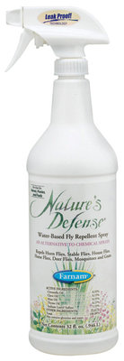 Nature's Defense Fly Repellent Spray