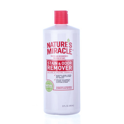 Nature's Miracle Stain & Odor Remover, Qt