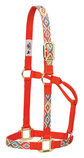 Navajo Nylon Halter, Orange/Multi