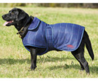 WeatherBeeta ComFITec Navy Tweed Dog Coat