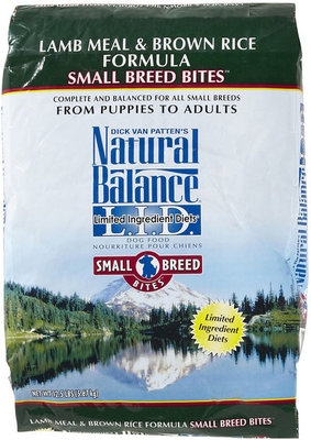 Lamb Meal and Brown Rice Small Bites Dry Dog Food, 12½ lb