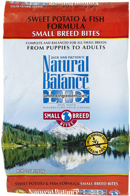 Sweet Potato and Fish Small Bites Dry Dog Food, 12½ lb