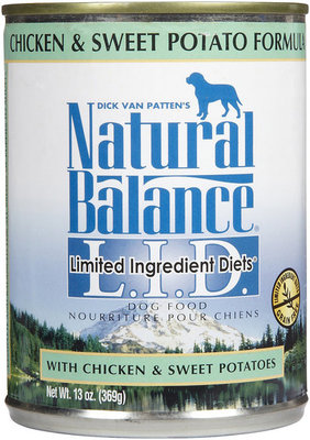 Chicken & Sweet Potato, Case of 12 (6 oz cans)