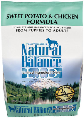 Sweet Potato and Chicken Dry Dog Food, 15 lb