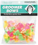 Pre-Tied Groomer Bows, Neon, 50 pk