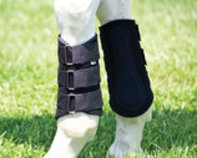 Neoprene Splint Boots, Black