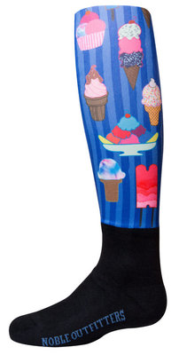 Noble Outfitters Girl's Over the Calf Peddies