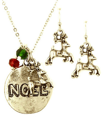 """Noel"" Necklace & Earring Set"