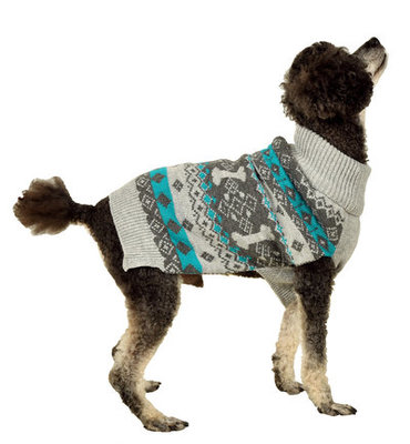 Nordic Knit Dog Sweater