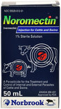 Noromectin Injectable Cattle & Swine Wormer (1% Ivermectin)
