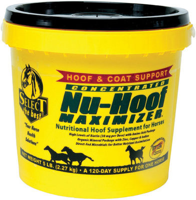 Nu-Hoof Maximizer™, 5 lb tub (120-day supply)